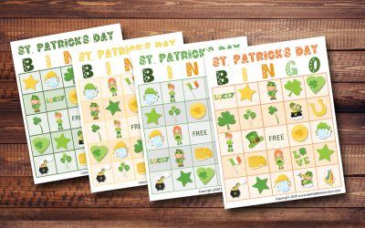 St. Patrick's Day Bingo Game for Kids