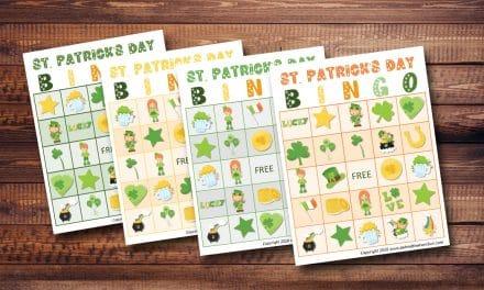 St. Patrick's Day Bingo Game for Kids