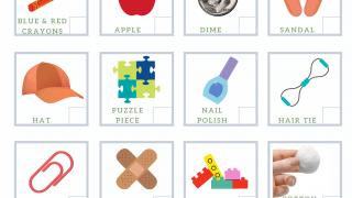 FREE 2-Page Indoor Scavenger Hunt PDF Printable for Kids
