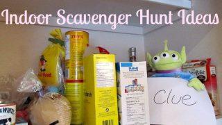 Indoor Scavenger Hunt Ideas