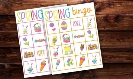 Spring Bingo Free Printable Game