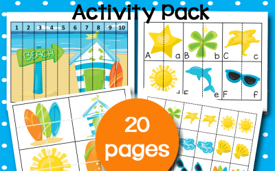 Free Printable Preschool Activities for Summer