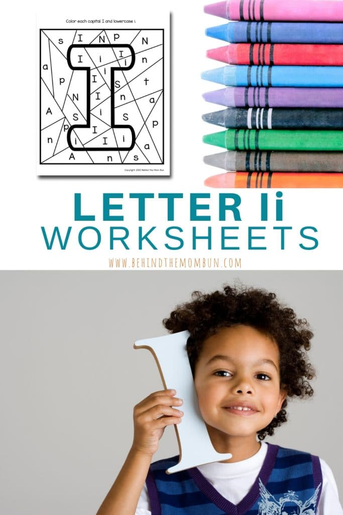 free printable letter i activities