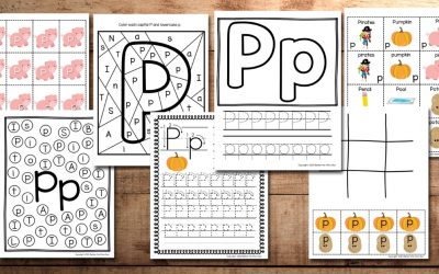 Letter P Worksheets and Activities