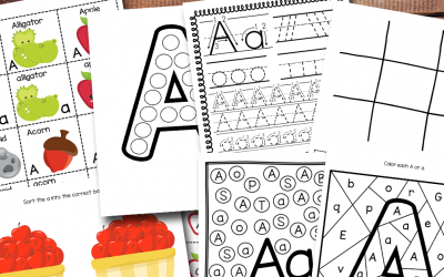 Awesome Letter A Worksheets