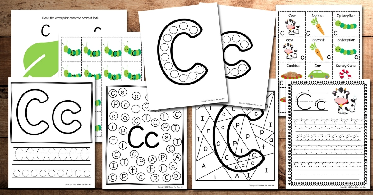 Letter C Worksheets And Activities For Kindergarten - 35+ Phonics Letter C Worksheets For Kindergarten Images
