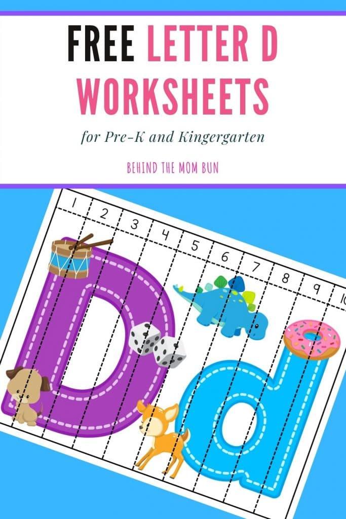 letter d worksheets