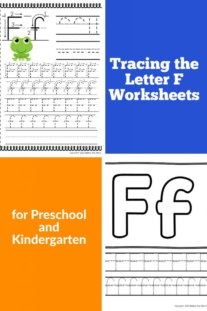 free printables letter f worksheets