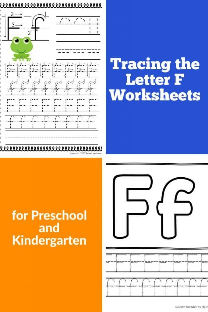 free printables letter f worksheets
