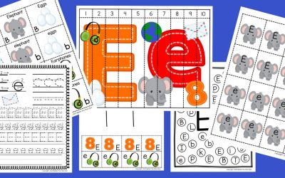Letter E Worksheets: Free Printable Pack