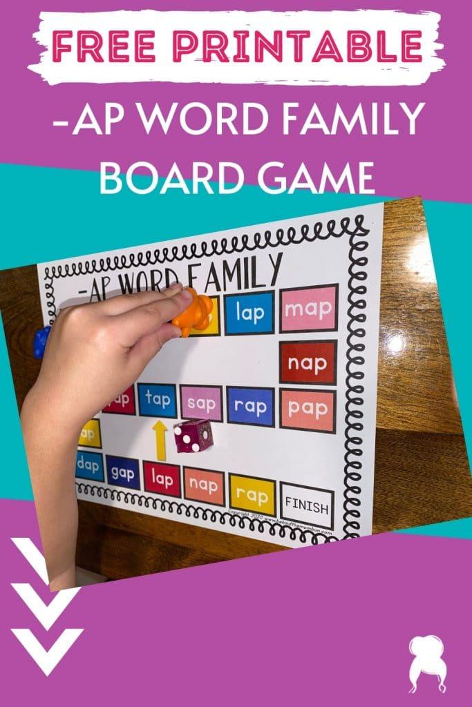 ap end words board game