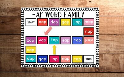Free Ap Ending Words Board Game