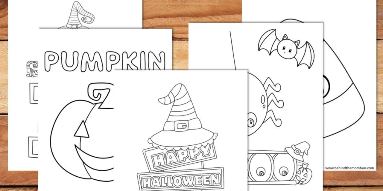 Free Printable Halloween Coloring Book