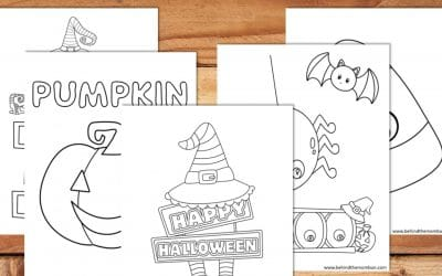Free Printable Halloween Coloring Book