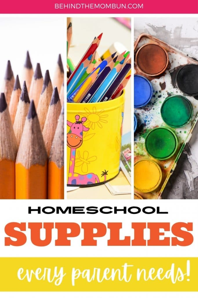 homeschool supplies