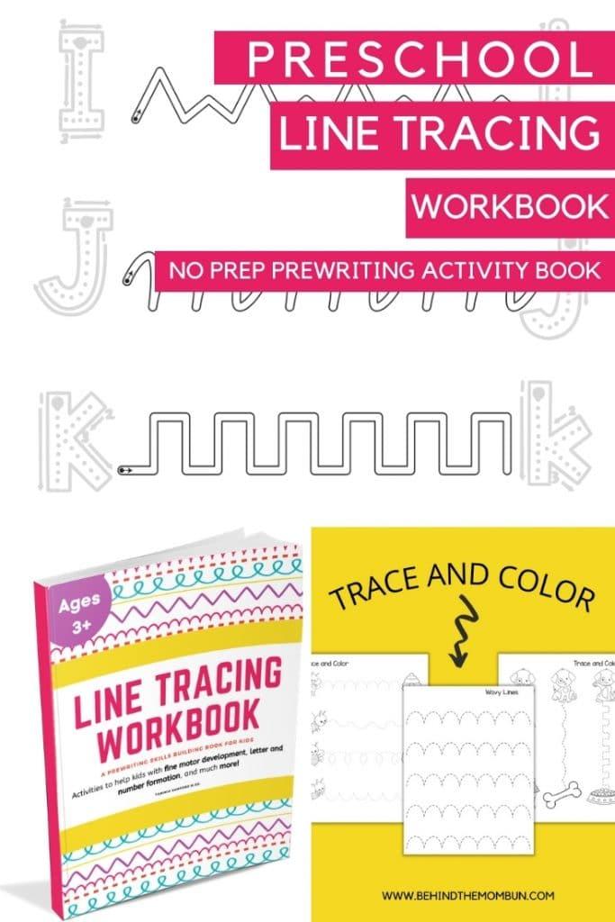 line tracing workbook