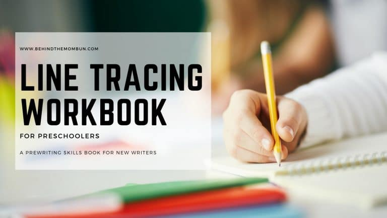Tracing the Lines Activity Workbook for Preschoolers
